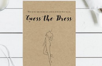 kraft-paper-guess-the-dress-game