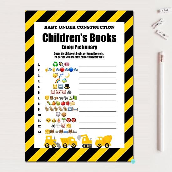 emoji-childrens-book-quiz-construction-baby-shower-game