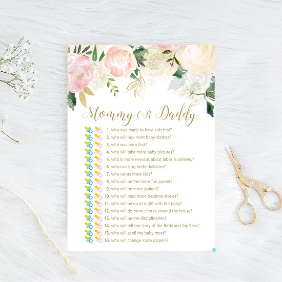 mommy-or-daddy-guess-whopink-blush-baby-shower-game