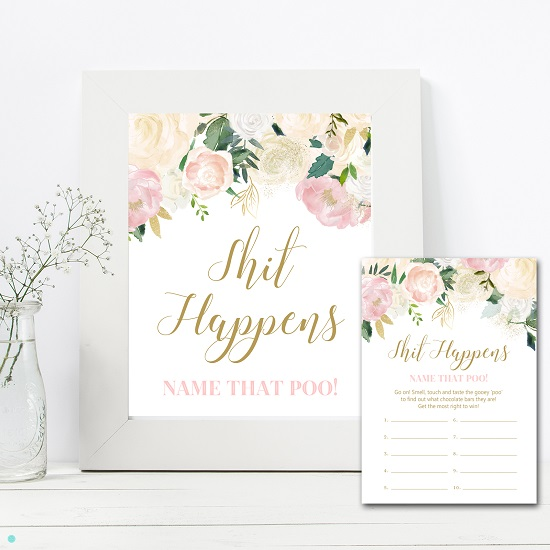 shit-happens-sign-pink-blush-baby-shower-game