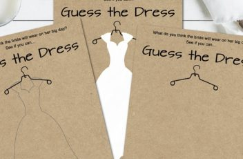 Download Guess the Dress Bridal Shower Game