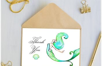 mermaid-thank-you-cards