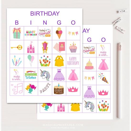 purple-birthday-girl-bingo-cards