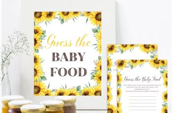 sunflower-guess-the-baby-food-game
