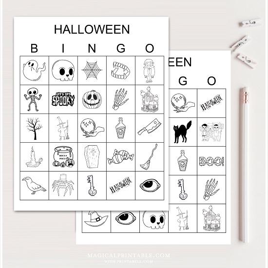 halloween-party-bingo-game